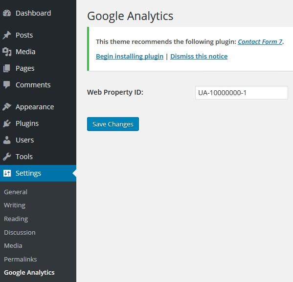 kode-google-analytics-wordpress